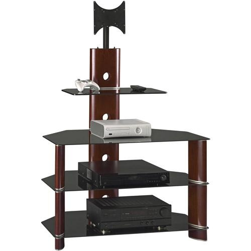 Bush Segments Collection Rosebud Cherry Flat Panel Swivel Mount Pertaining To Recent Tv Stands Swivel Mount (Image 5 of 20)