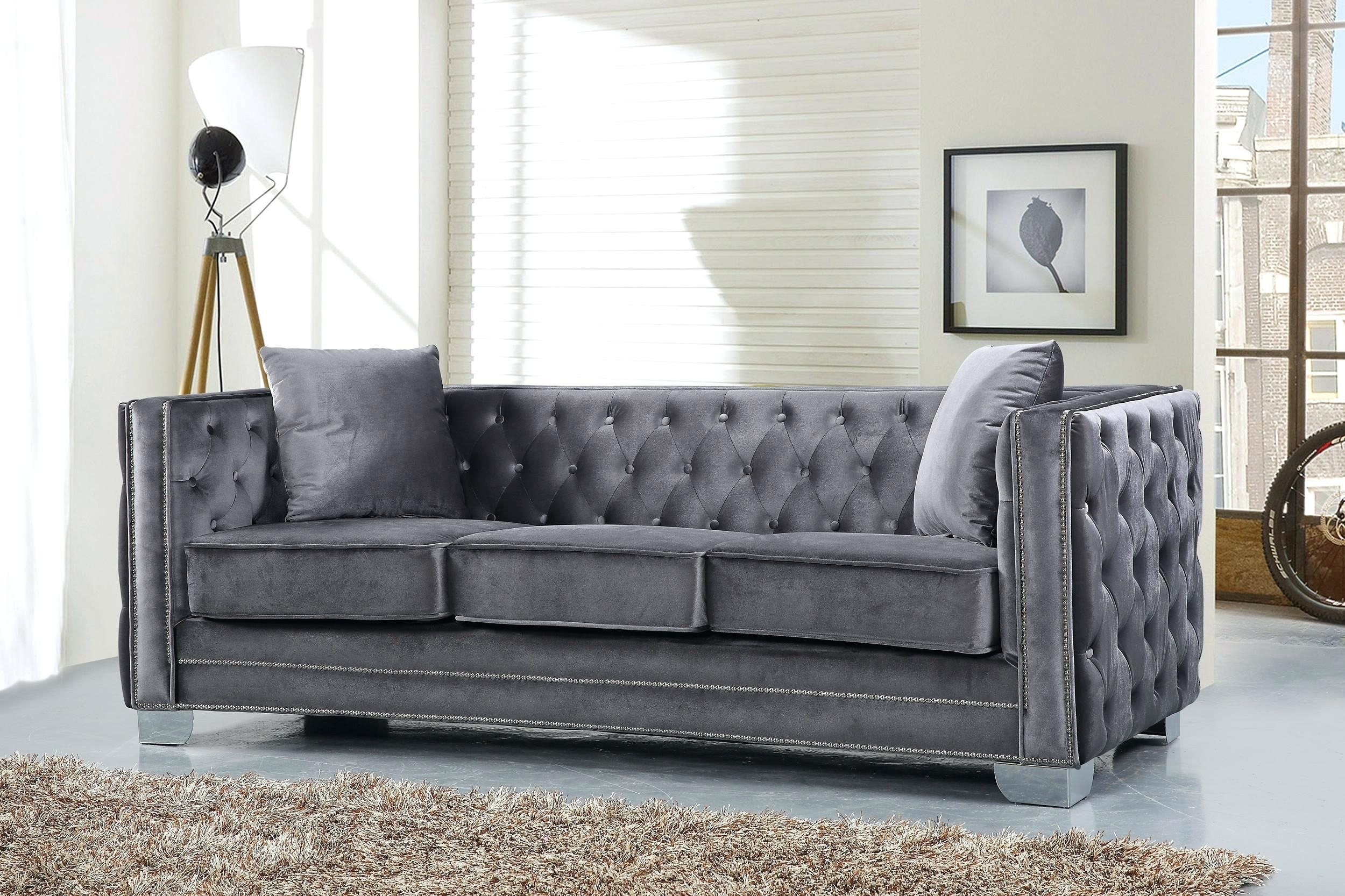 Button Tufted Sofa For Sale Set Velvet #12867 Gallery Within Cheap Tufted Sofas (View 7 of 23)