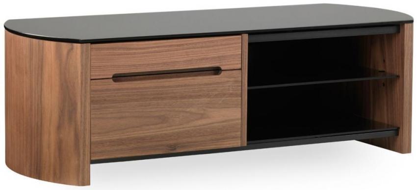 Buy Alphason Finewood Walnut Tv Cabinet – Fw1100Cb Online – Cfs Uk Pertaining To Newest Walnut Tv Cabinet (Image 7 of 20)
