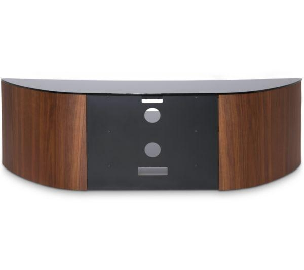 Buy Alphason Finewoods Curve 1400 Tv Stand – Walnut | Free With Regard To Most Recent Curve Tv Stands (Image 7 of 20)