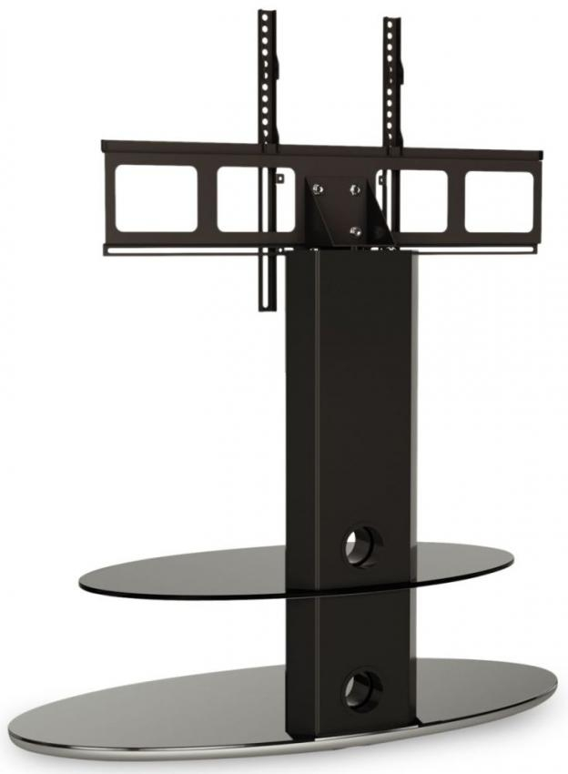 Buy Alphason Gradino Black Titanium Cantilever Tv Stand – Grdb800 Pertaining To Current Cheap Cantilever Tv Stands (Image 13 of 20)
