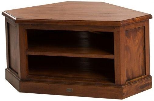 Buy Ancient Mariner Mahogany Village Low Corner Tv Unit Online Intended For Newest Mahogany Corner Tv Cabinets (Image 7 of 20)