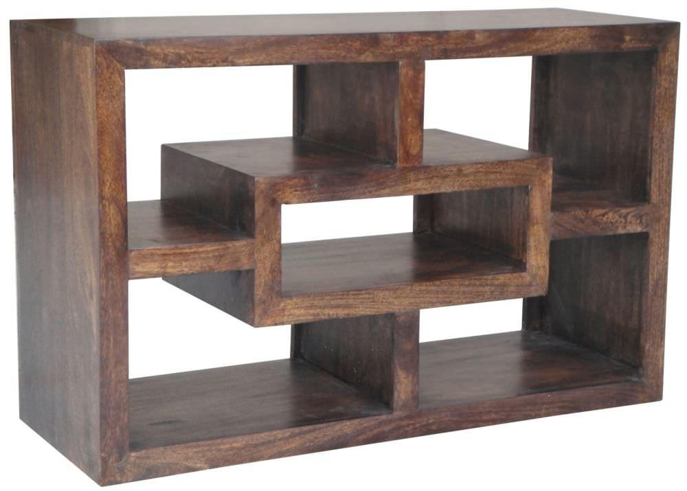 Buy Jaipur Furniture Yoga Walnut Straight Tv Unit Online – Cfs Uk Pertaining To Most Current Tv Unit 100Cm (Image 3 of 20)
