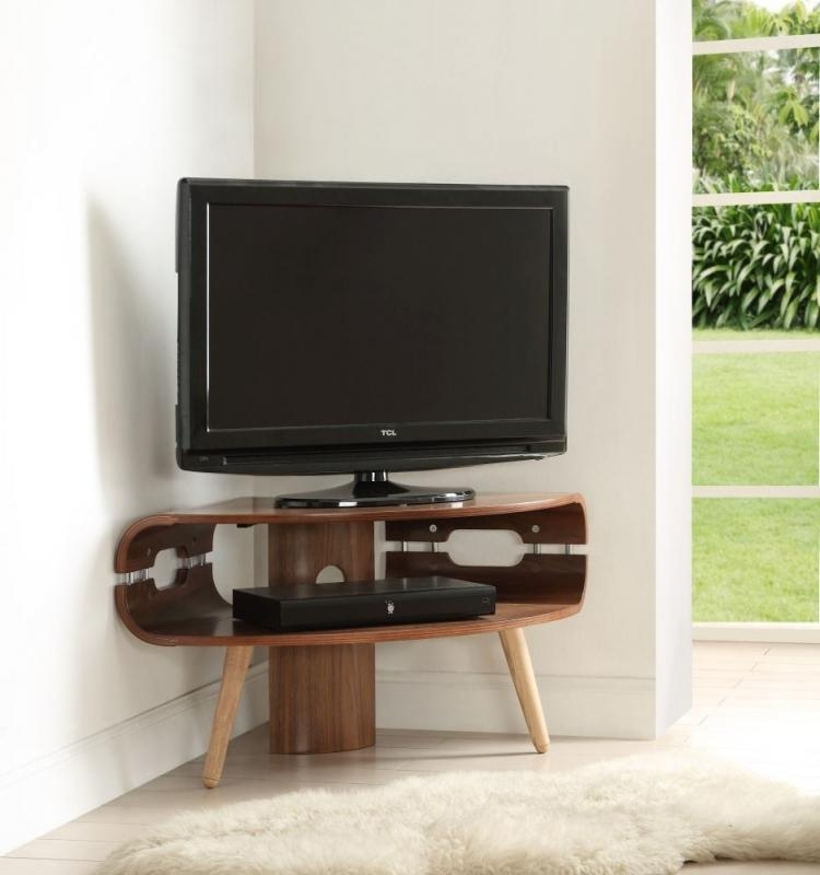 Buy Jual Walnut Corner Tv Stand Jf701 Online – Cfs Uk Pertaining To Most Popular Walnut Corner Tv Stands (Image 5 of 20)