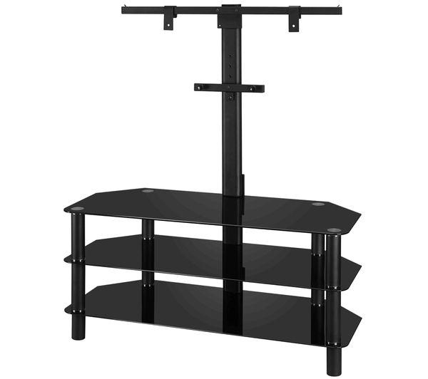 Buy Logik S105Br14 Tv Stand With Bracket | Free Delivery | Currys Inside Newest Bracketed Tv Stands (Image 8 of 20)
