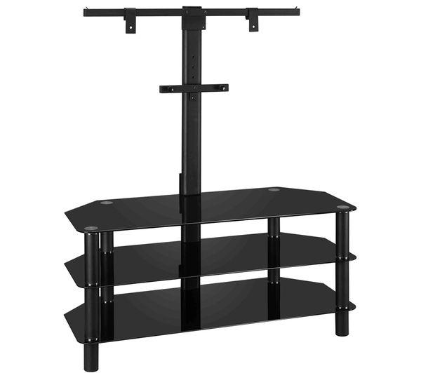 Buy Logik S105Br14 Tv Stand With Bracket | Free Delivery | Currys With Most Recent Tv Stands With Bracket (View 12 of 20)