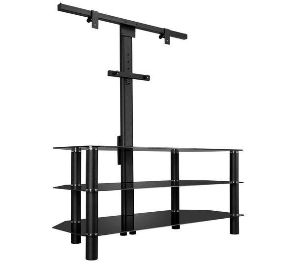 Buy Logik S105Br14 Tv Stand With Bracket | Free Delivery | Currys Within Most Popular Bracketed Tv Stands (View 2 of 20)