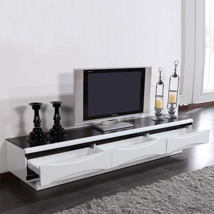 Buy Perth Cho Audiovisual Cabinet Modern Glass Tv Cabinet Tv Intended For Latest Glass Tv Cabinets (Image 7 of 20)