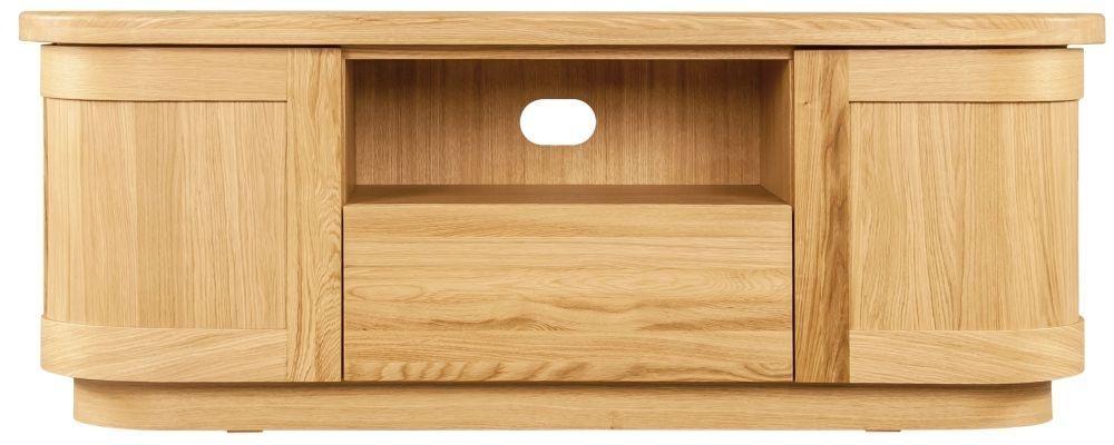 Buy Sorrento Tv Stand, Clemence Richard Sorento Oak Tv Cabinet Intended For 2017 Oak Tv Cabinets (View 10 of 20)