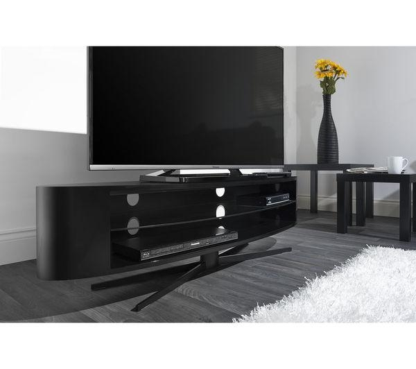 Buy Techlink Ellipse El140B Tv Stand | Free Delivery | Currys With Regard To Most Recent Techlink Tv Stands Sale (Image 4 of 20)