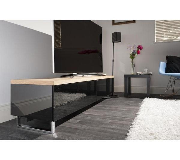 Buy Techlink Panorama Pm160Lo Tv Stand | Free Delivery | Currys With Regard To Most Up To Date Panorama Tv Stands (Image 1 of 20)