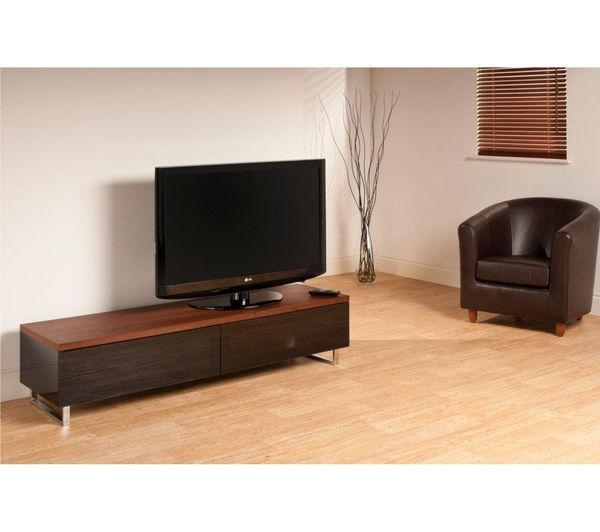 Featured Image of Techlink Panorama Walnut Tv Stand