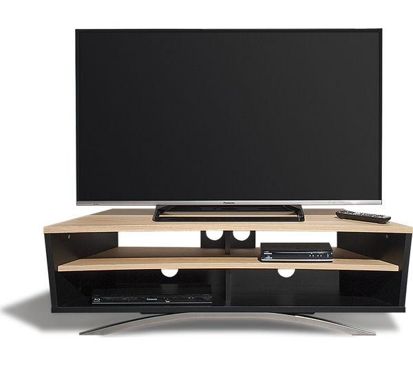 Buy Techlink Prisma Pr130Sblo Tv Stand | Free Delivery | Currys Intended For Latest Techlink Tv Stands Sale (Image 7 of 20)