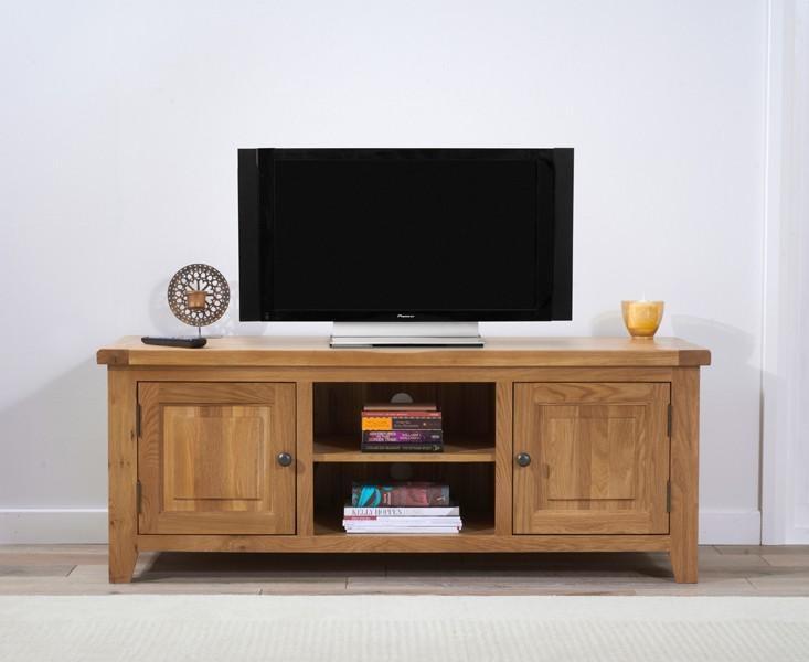 Buy The Yateley 150Cm Oak Tv Unit At Oak Furniture Superstore throughout 2018 150Cm Tv Unit