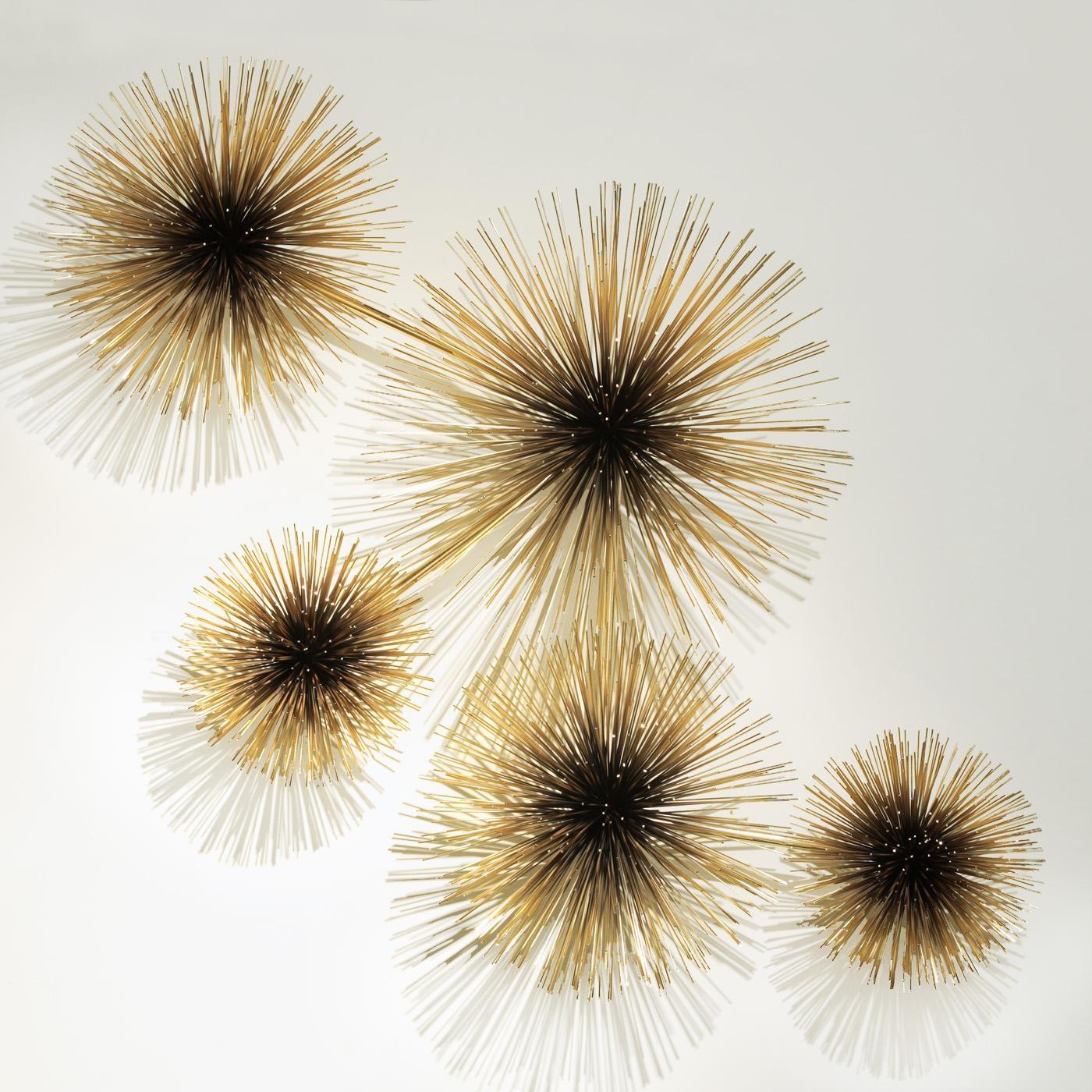 C. Jeré Brass Urchin Sculpture Wall Art | Modern Art | Jonathan Adler With Regard To C Jere Wall Art (Photo 3 of 20)