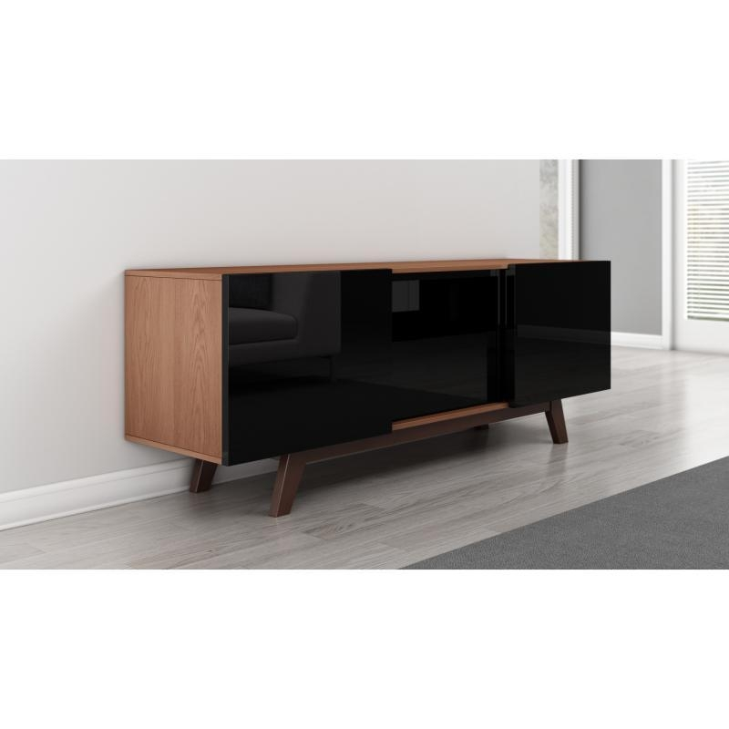 Cabinet: Cool Tv Cabinet With Doors Large Tv Cabinets With Doors Inside Most Up To Date Glass Tv Cabinets With Doors (View 3 of 20)