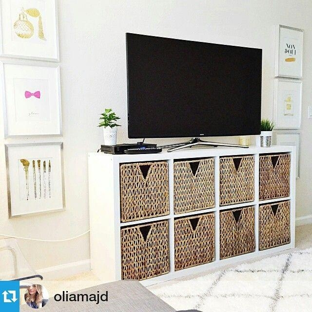 Cabinet: Terrific Ikea Tv Cabinet Ideas Tv Stands And Cabinets In Current Rectangular Tv Stands (Image 5 of 20)