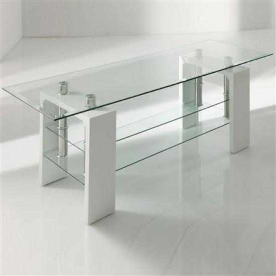 Calico White Glass Tv Stand | Morale Home Furnishings With Regard To Best And Newest White Glass Tv Stands (View 2 of 20)