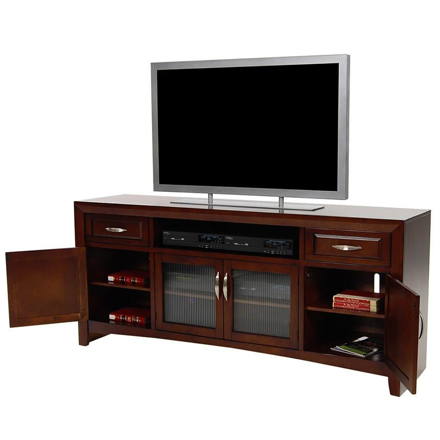 Cappuccino Tv Stand | El Dorado Furniture With Most Recent Mahogany Tv Stands (View 17 of 20)