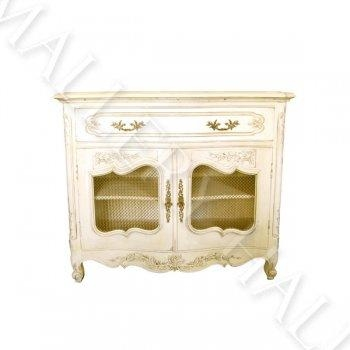 Carved French Country Tv Cabinet Mesh Doors Regarding Most Up To Date French Country Tv Cabinets (Image 7 of 20)