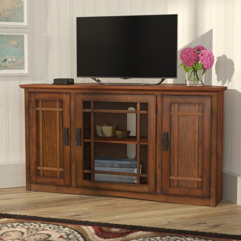 "Charlton Home Stodeley Corner 46"" Tv Stand & Reviews 