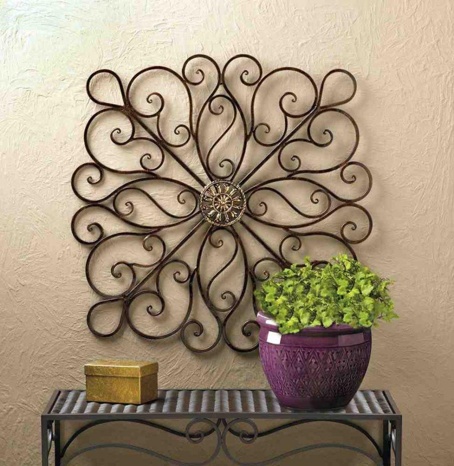 Charming Wrought Iron Wall Art India Large Round Wrought Iron In Large Wrought Iron Wall Art (View 7 of 20)