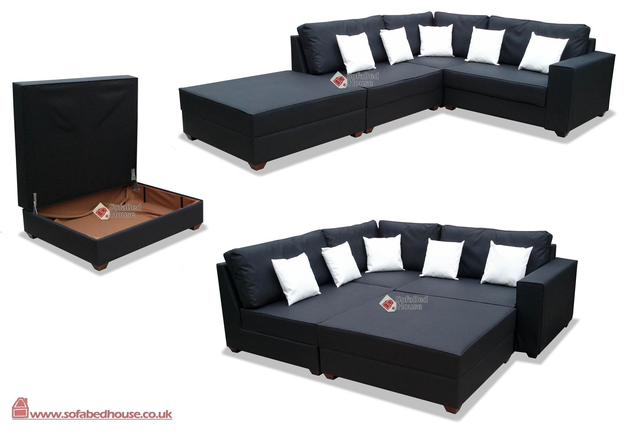 Cheap Corner Sofa Beds With Storage | Centerfieldbar Regarding Sofas With Beds (Image 4 of 22)
