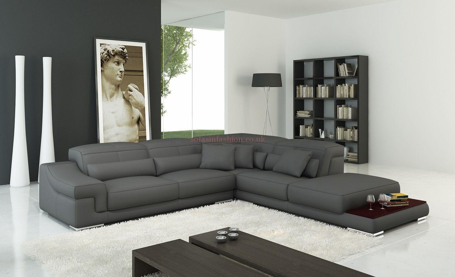 Cheap Leather Corner Recliner Sofas | Savae With Regard To Large Black Leather Corner Sofas (Image 7 of 22)