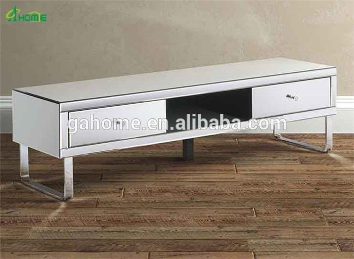 Chelsea Mirrored Media Tv Cabinet Stand, View Media Tv Cabinet, Ga Inside  Most Popular