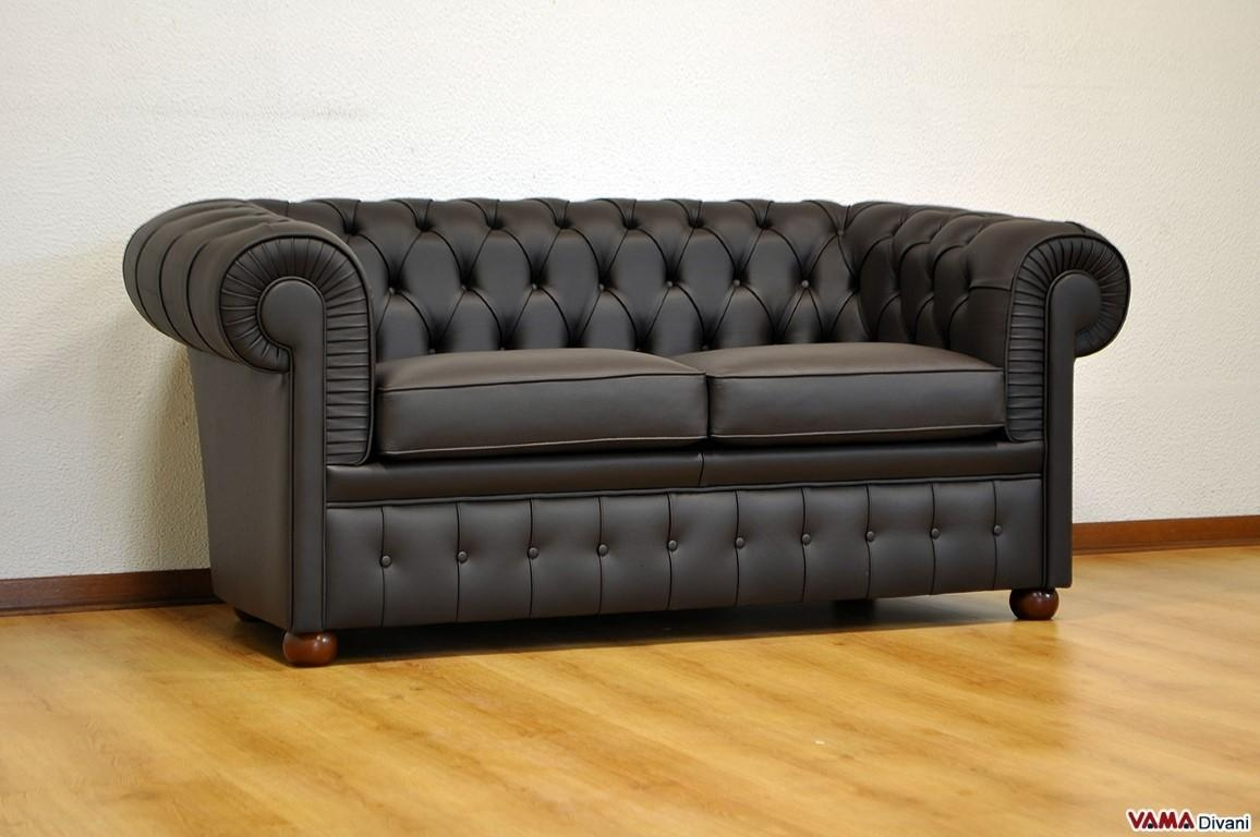 Chesterfield 2 Seater Sofa | Price, Upholstery And Dimensions Inside Chesterfield Black Sofas (Image 3 of 20)