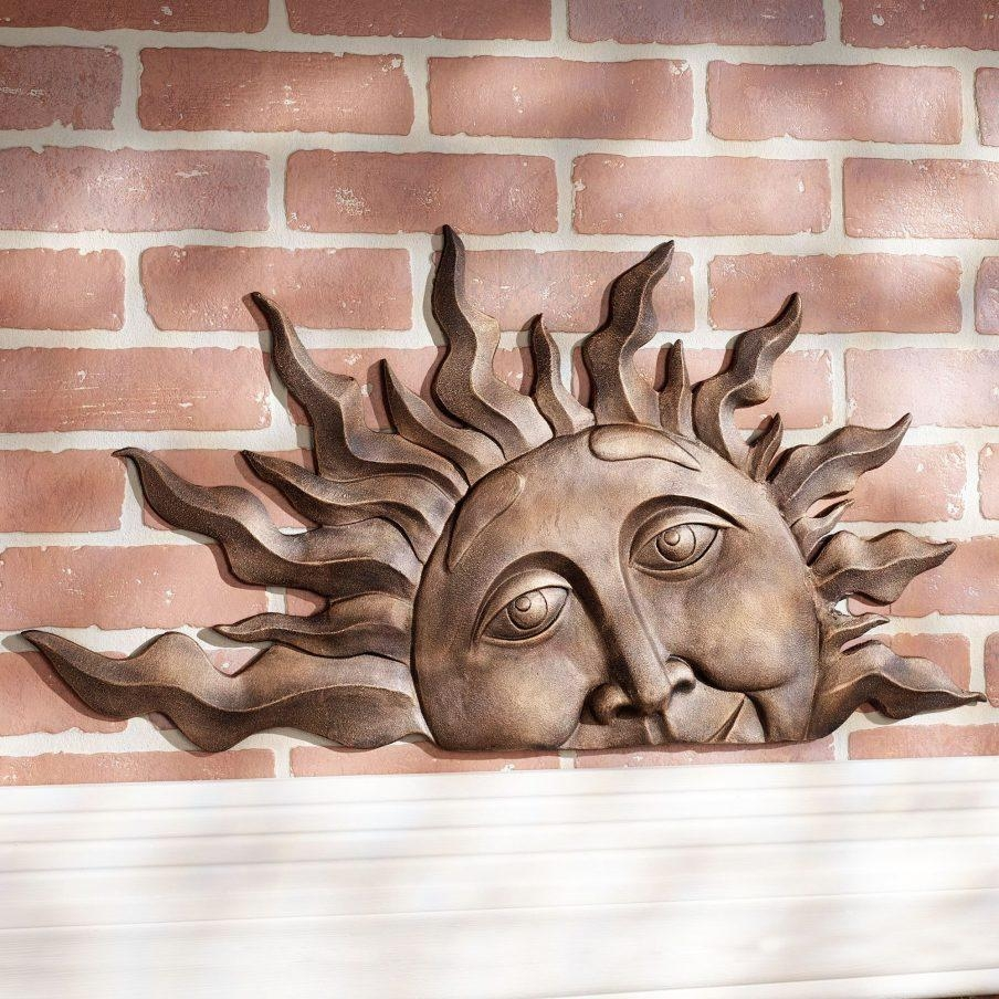 Chic Extra Large Metal Sun Wall Art Outdoor Outdoor Wall Art Throughout Large Metal Sun Wall Art (Image 4 of 20)
