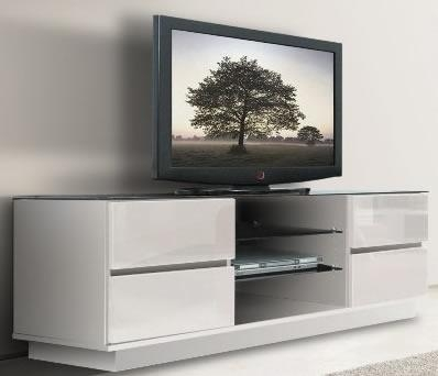 Chic Tv Unit Stand – Best Interior Ideas Inside Most Up To Date White High Gloss Tv Stand Unit Cabinet (View 5 of 20)