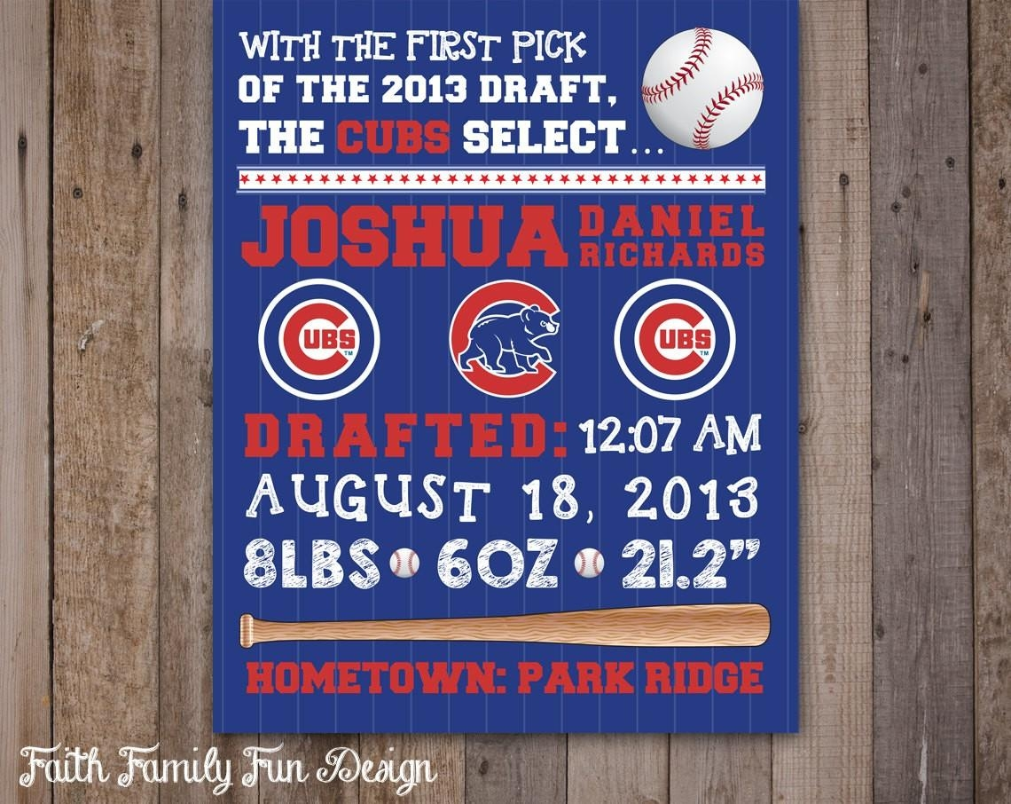 Chicago Cubs Wall Art Perfect As Canvas Wall Art For Wall Art Within Chicago Cubs Wall Art (View 2 of 20)