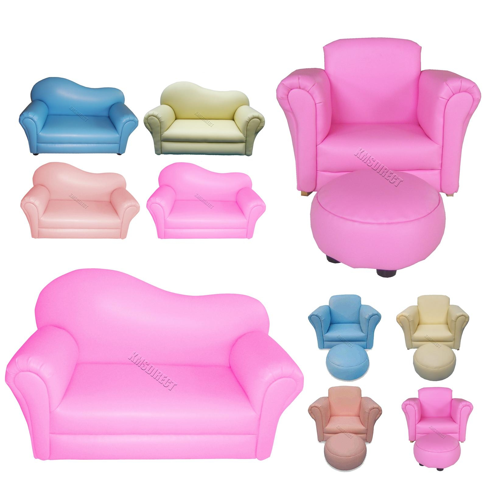 Children Kids Child Sofa Bedroom Furniture Armchair Couch Seat Throughout Children Sofa Chairs (View 15 of 22)