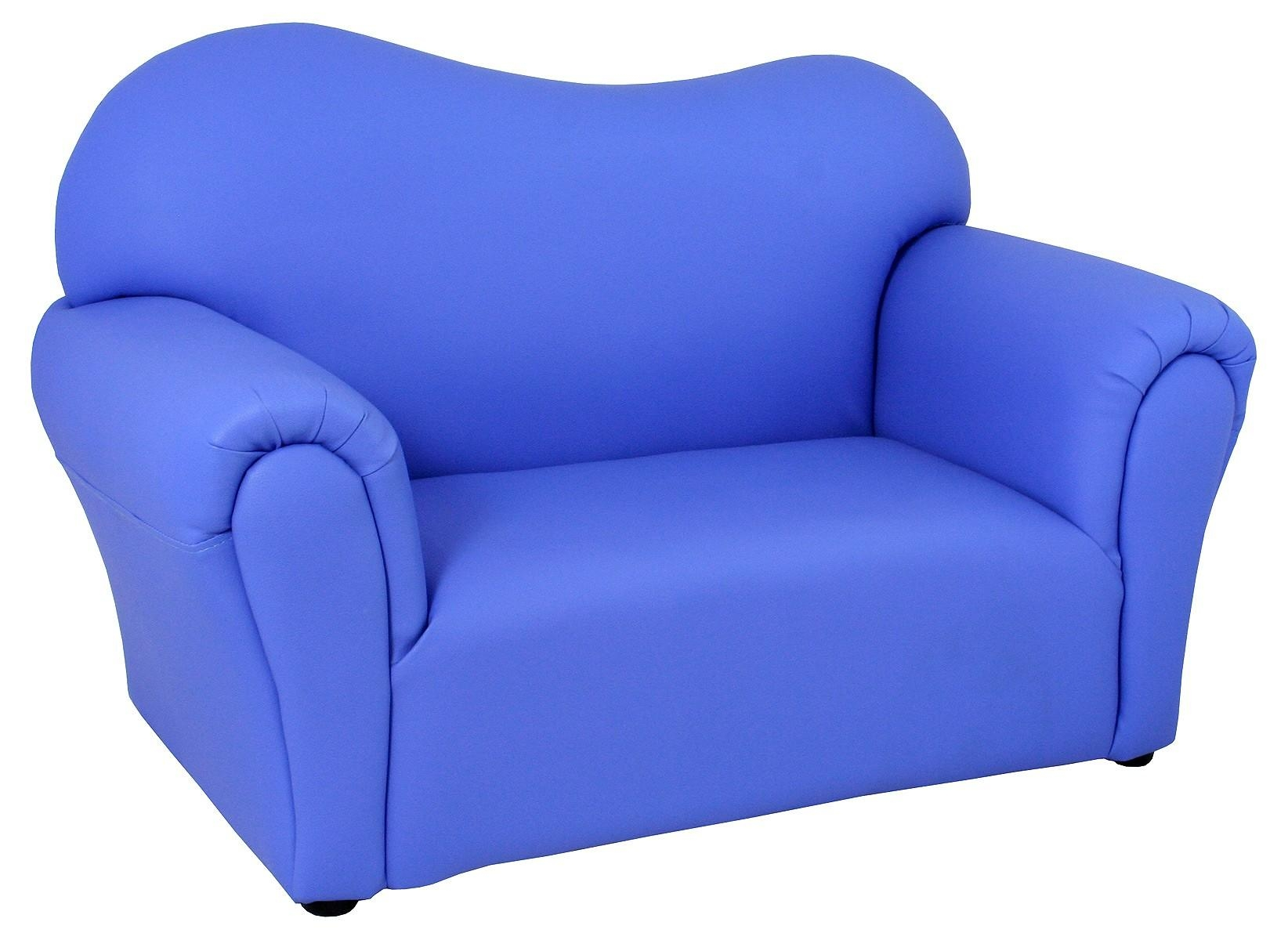 Childrens Blue Mini Sofa – Be Fabulous! Inside Children Sofa Chairs (View 17 of 22)