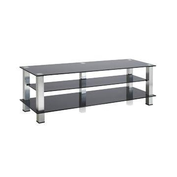 China Rectangle Black Tempered Glass Tv Stand On Global Sources In Most Popular Rectangular Tv Stands (View 13 of 20)
