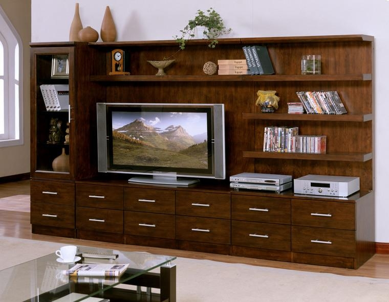 Choosing The Correct Size Tv Cabinet | Oak Furniture And Sofa With Recent Wooden Tv Cabinets (Image 10 of 20)