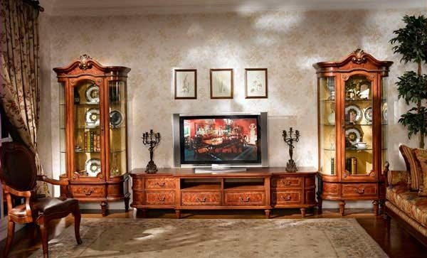 Classic Entertainment Collection Louis Xvi Tv Stand | Tv Stands Within Most Current Classic Tv Stands (Image 4 of 20)