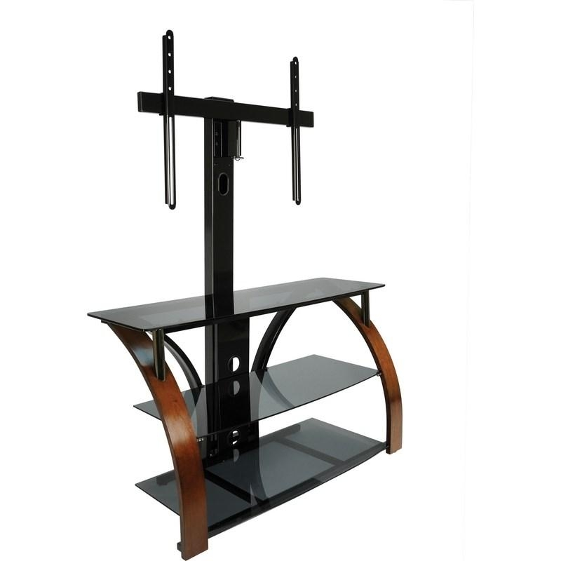 Classic Flame Tpc2143 Bell O 44 Triple Play Flat Panel A V Stand For Most Current Bell'o Triple Play Tv Stands (View 11 of 20)