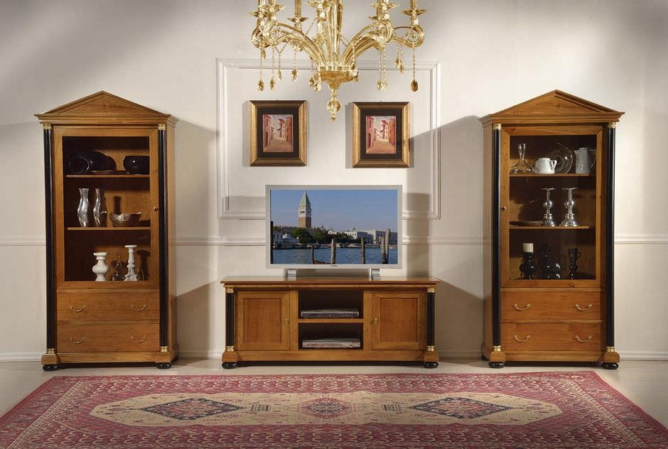 Classic Tv Cabinet / Wooden – Empire – Guerra Vanni Throughout Most Up To Date Classic Tv Cabinets (View 17 of 20)