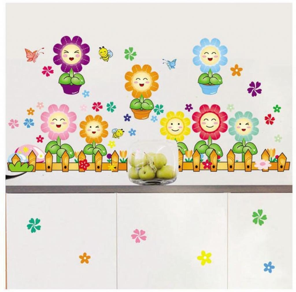 Classroom Wall Decor Three Dimensional Wall Stickers Children39S In Wall Art For Kindergarten Classroom (View 16 of 20)