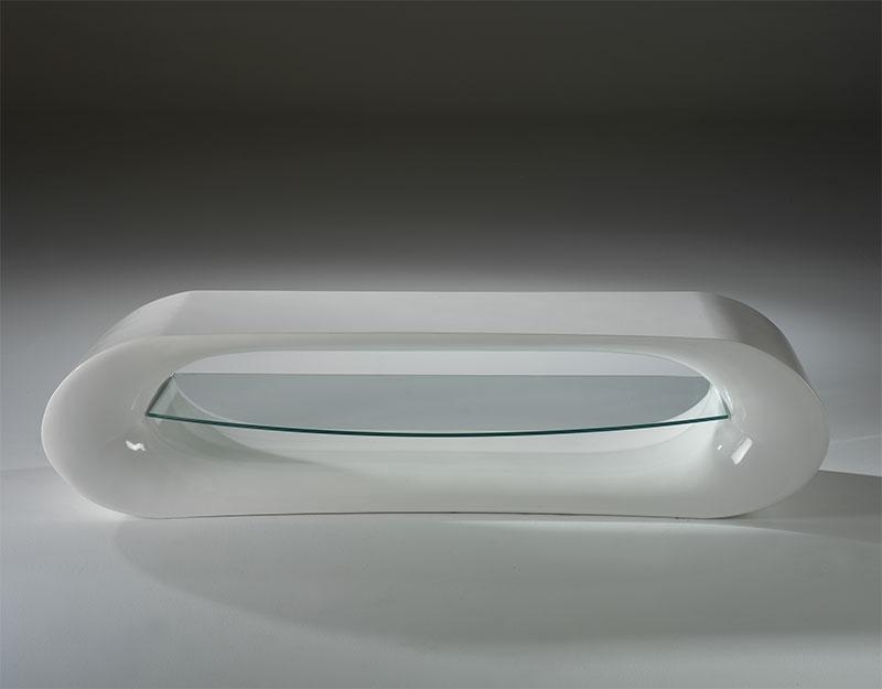 Claudia Modern High Gloss Tv Unit Choice Of Colour For Most Up To Date White Gloss Oval Tv Stands (Image 4 of 20)