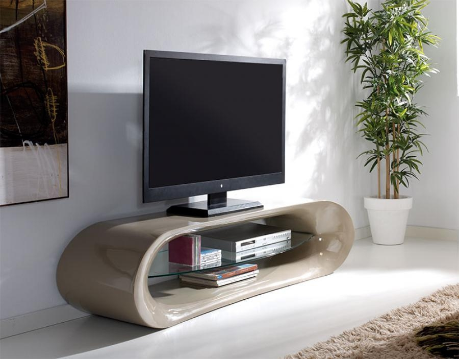 Claudia Modern High Gloss Tv Unit Choice Of Colour For Newest Cream Gloss Tv Stands (Image 7 of 20)
