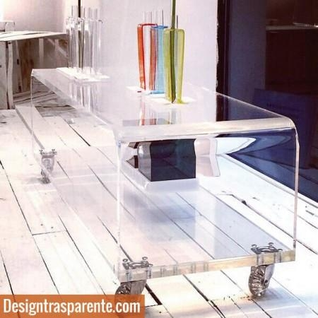 Clear Acrylic Table For Tv Stand  (Image 3 of 20)
