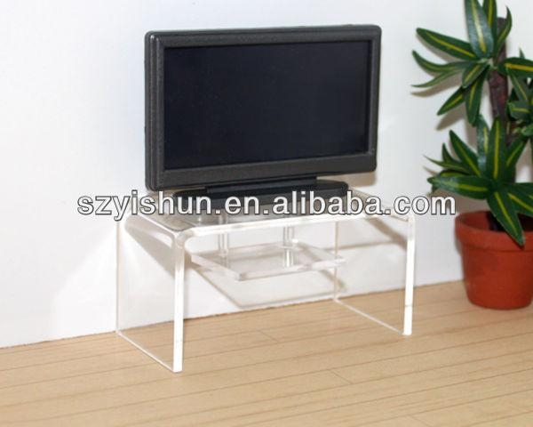 Clear Acrylic Tv Stand, Clear Acrylic Tv Stand Suppliers And For Best And Newest Clear Acrylic Tv Stands (View 9 of 20)