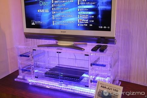Clear Acrylic Tv Stand  Craziest Gadgets Inside Most Popular Clear Acrylic Tv Stands (Image 6 of 20)