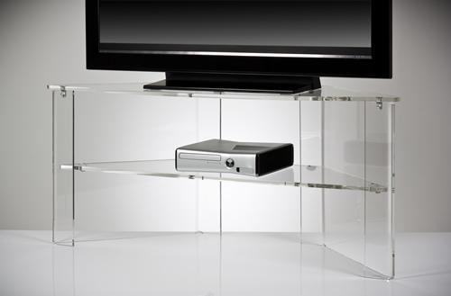 Clear Acrylic Tv Stand | Office Design Gallery – The Best Offices Regarding Most Popular Acrylic Tv Stands (View 4 of 20)