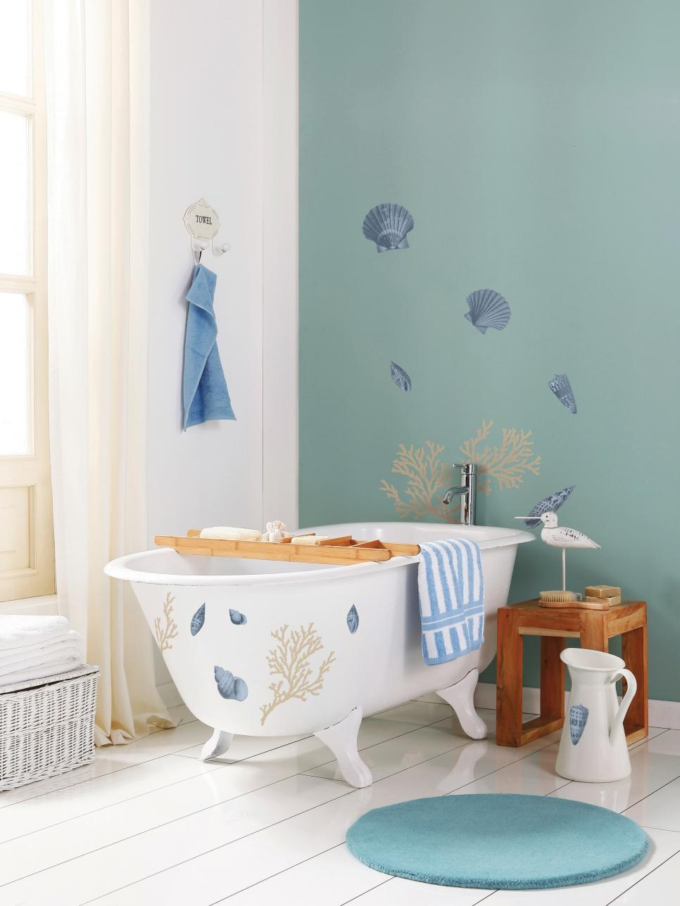 Coastal Bathroom Ideas | Hgtv Within Flip Flop Wall Art (Image 5 of 20)
