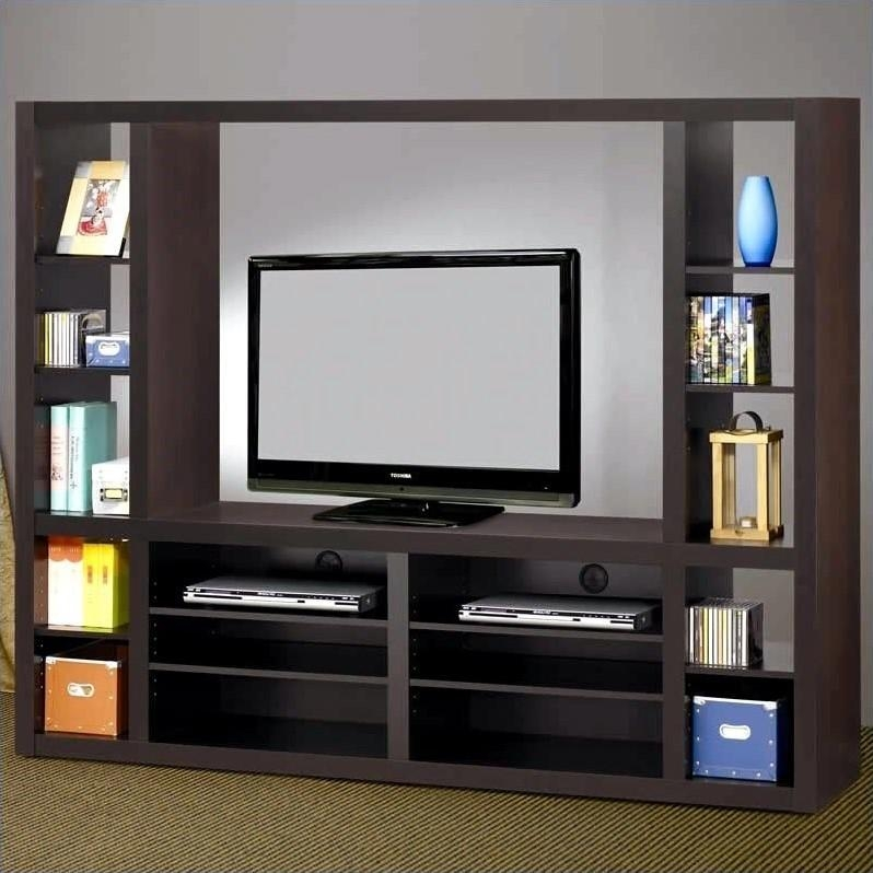 Coaster Wall Units Contemporary Entertainment Wall Unit In Within 2018 Tv Entertainment Unit (Image 9 of 20)
