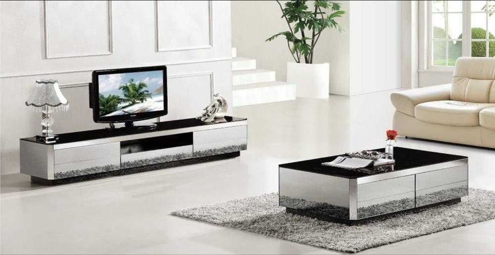 Coffee Table And Tv Stand Set Ideal Glass Coffee Table On Small Throughout Latest Tv Unit And Coffee Table Sets (Image 6 of 20)